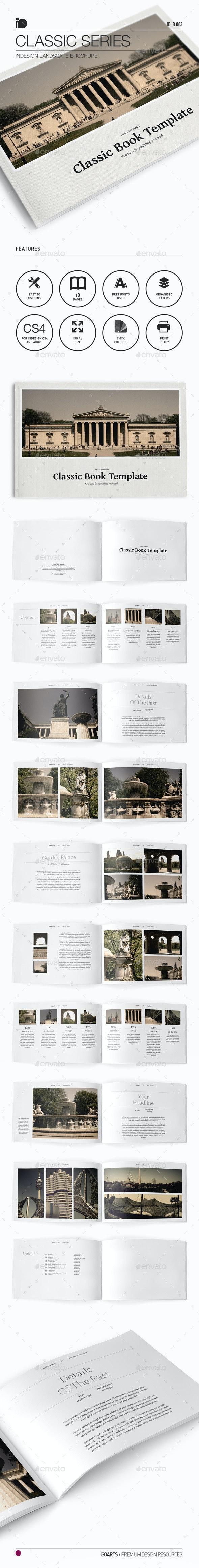Landscape Brochure • Classic Series - Portfolio Brochures