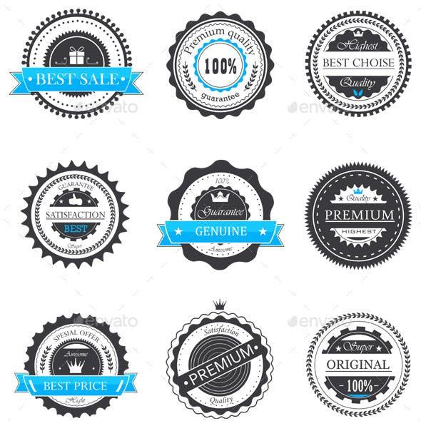 Guarantee Badges Vector