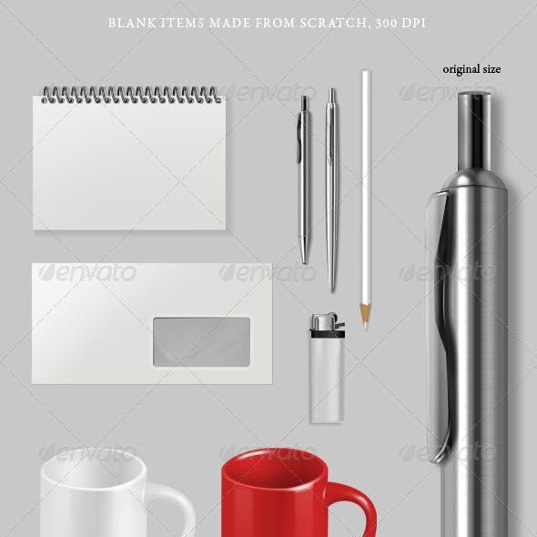 Blank Items