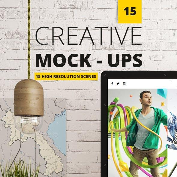 15 Creative Mockups