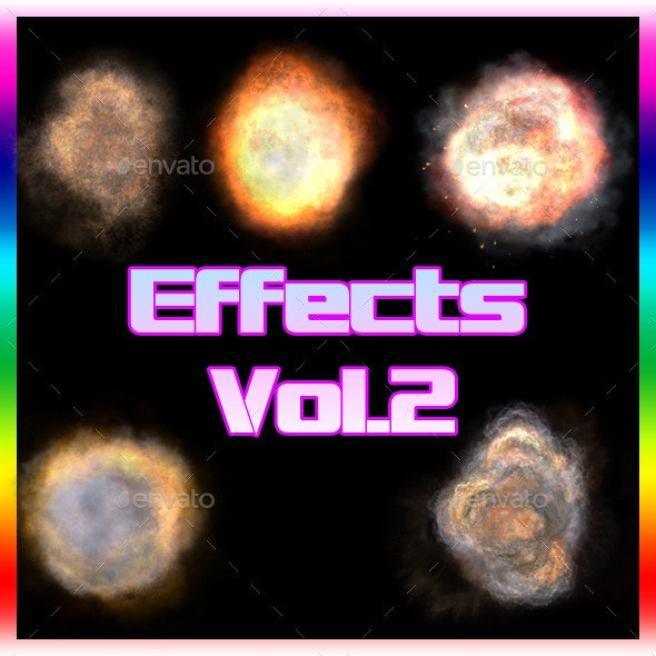 Effects Vol.2 - Miscellaneous Game Assets
