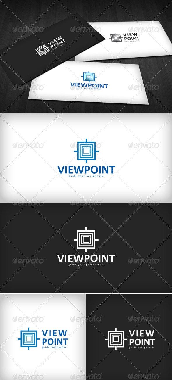 Viewpoint Logo - Vector Abstract