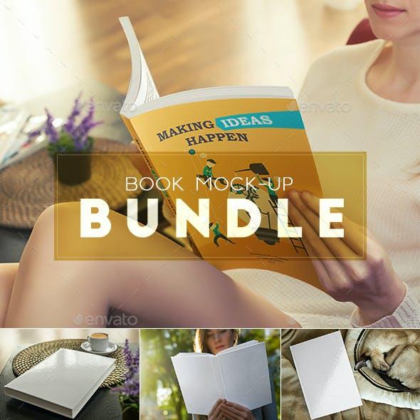 Book Mock-Up Bundle