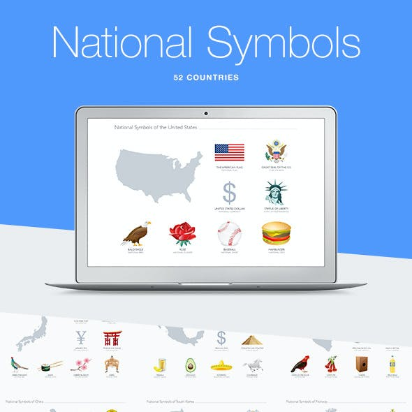National Symbols for Keynote