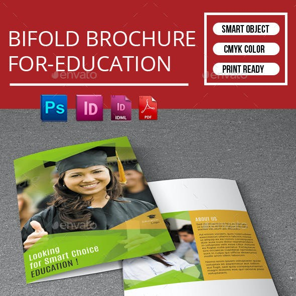 Bifold Brochure for-Education