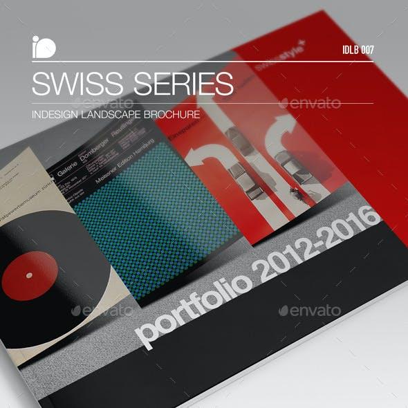 Landscape Brochure • Swiss Series