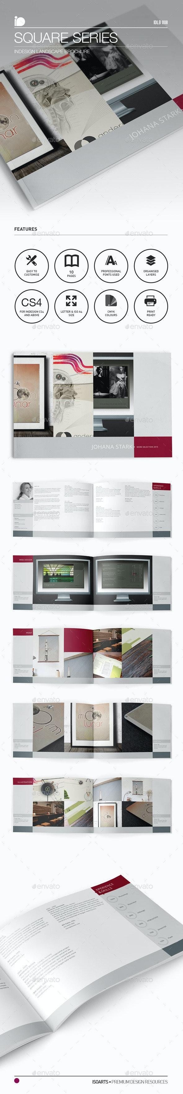 Landscape Brochure • Square Series - Print Templates