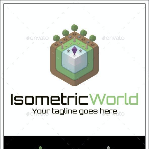 Isometric World Logo