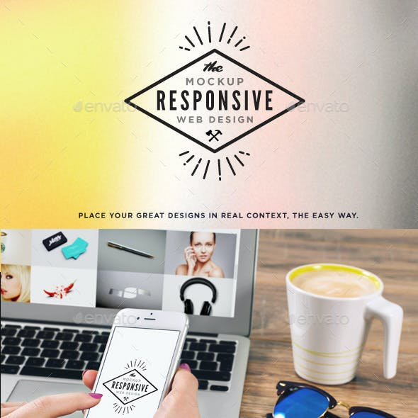 Responsive Screens Mock-Up