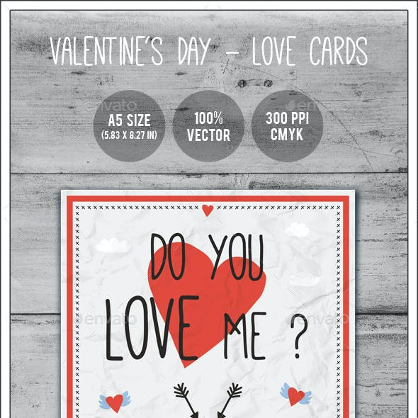 Valentine's Day - Love Cards