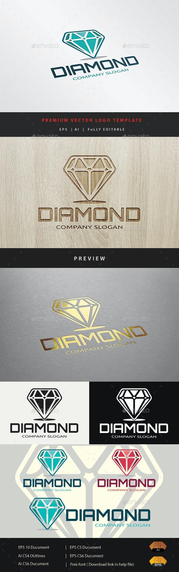 Diamond - Objects Logo Templates