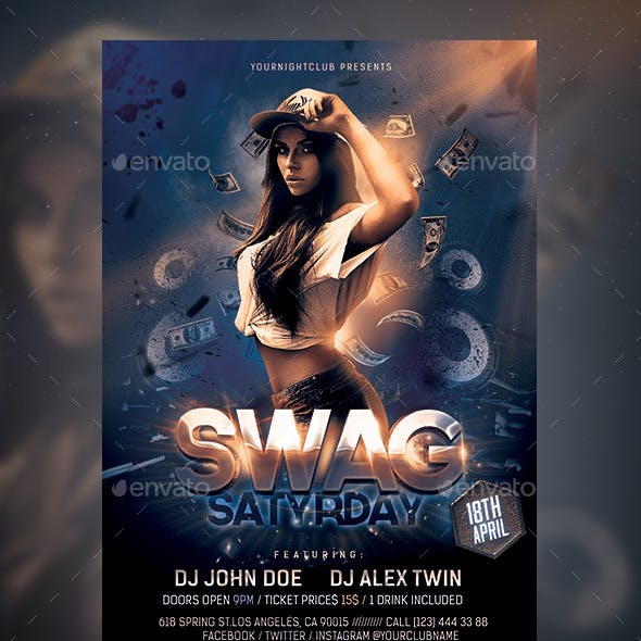 SWAG Party Flyer