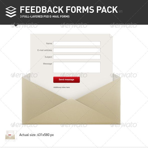 Feedback Forms Pack