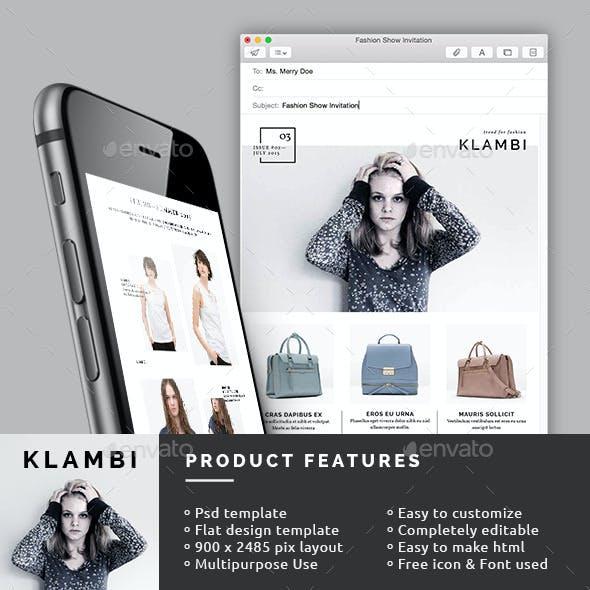 Fashion E-Newsletter