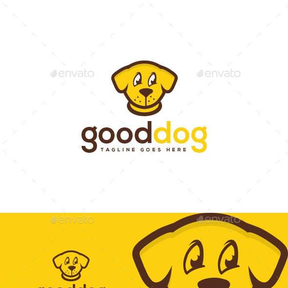 Good Dog Logo Template