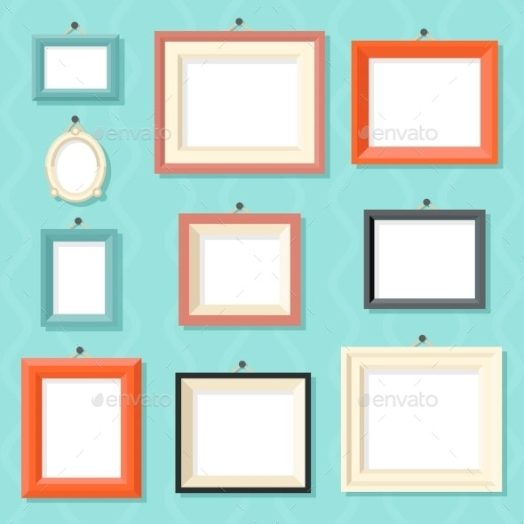 Vintage Cartoon Photo Picture Painting Drawing - Objects Vectors