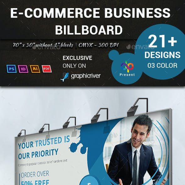 E-Commerce Business Billboard