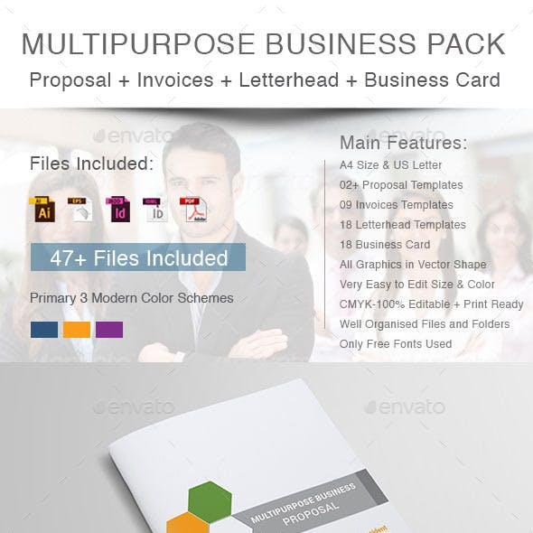 Multipurpose Business Stationery Pack