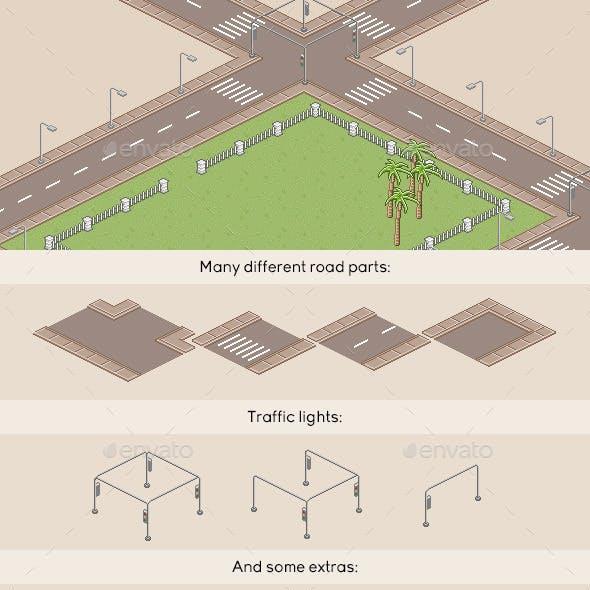 Pixel Art Roads