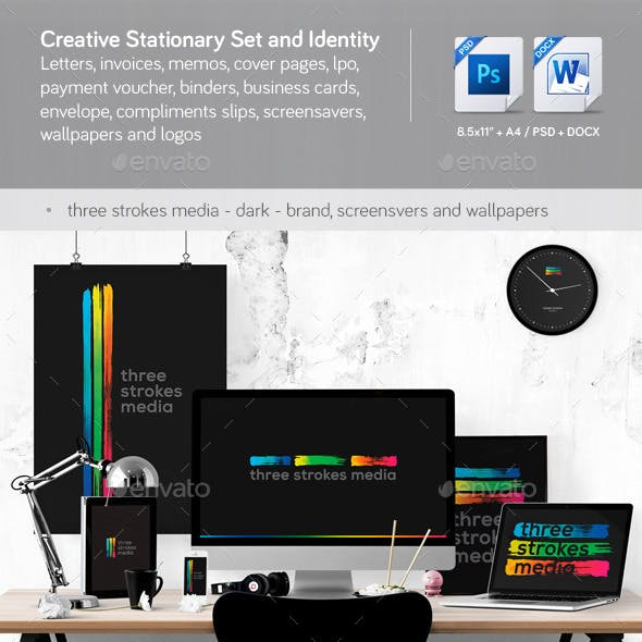Creative Corporate Identity and Stationery