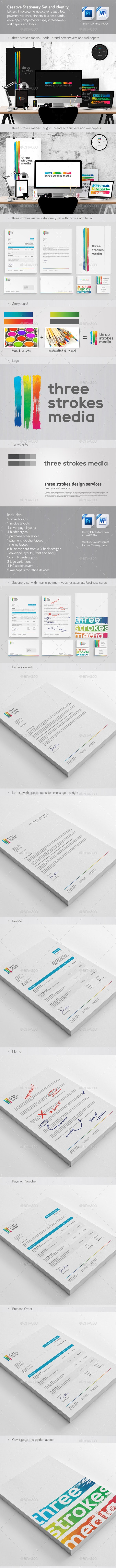Creative Corporate Identity and Stationery - Stationery Print Templates