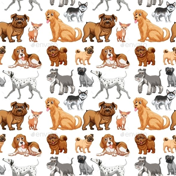 Seamless Dogs