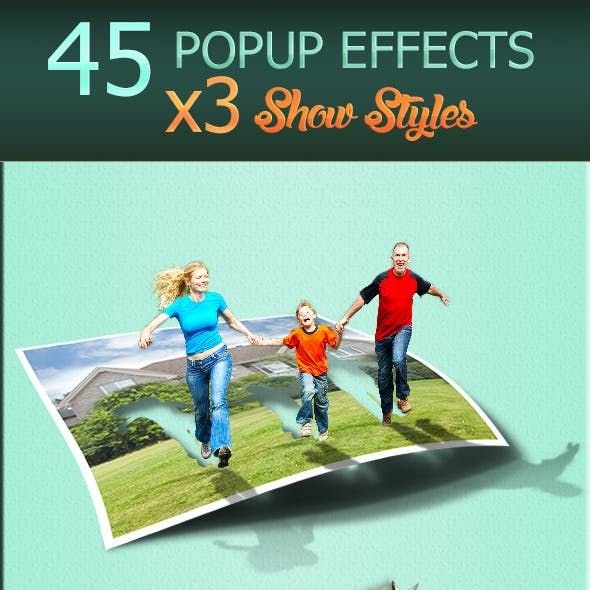 45 Popup Effects