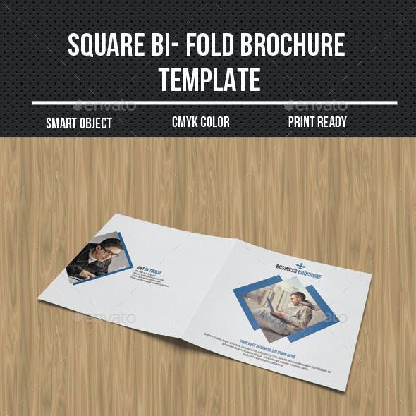 Corporate Bi-Fold Business Brochure