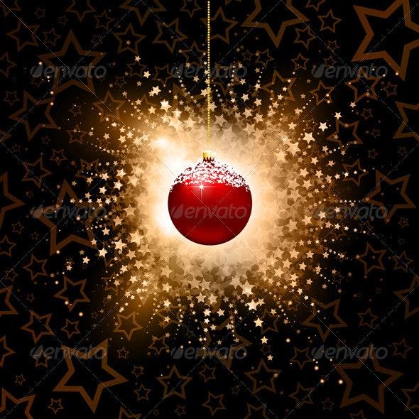 Christmas bauble background - Christmas Seasons/Holidays