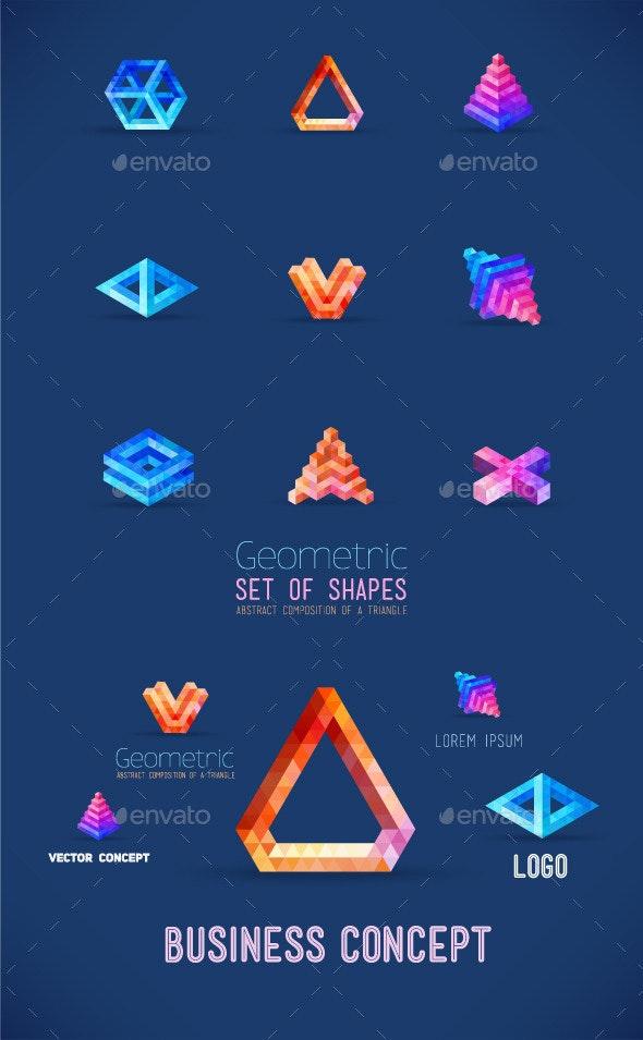 Geometric Shapes  - Concepts Business