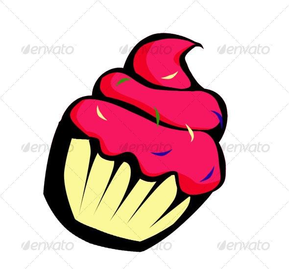 Cupcake - Miscellaneous Illustrations