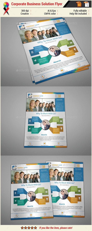 Multipurpose Creative Infographic Flyer - Corporate Flyers