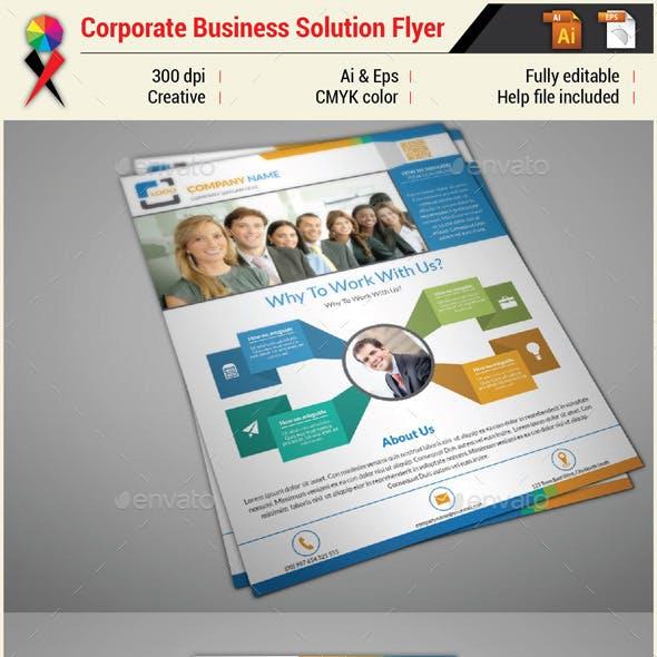 Multipurpose Creative Infographic Flyer