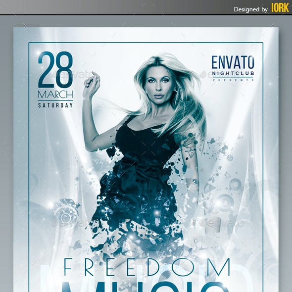 Freedom Music Flyer