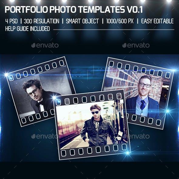Portfolio Photo Templates V1