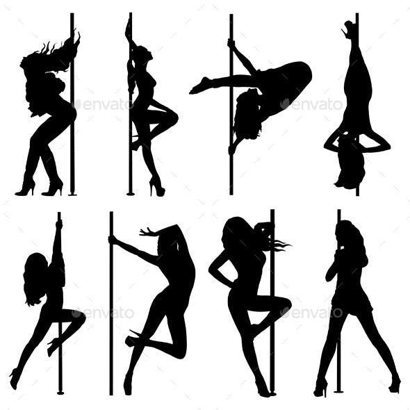 Pole Dancing Women