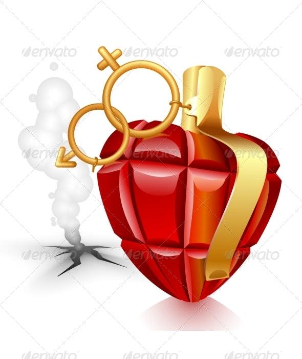 Valentine's Day greeting card - Valentines Seasons/Holidays