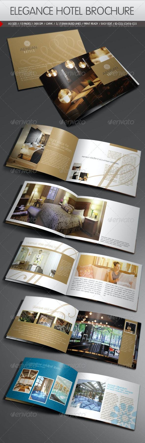 Elegance Hotel Brochure - Corporate Brochures