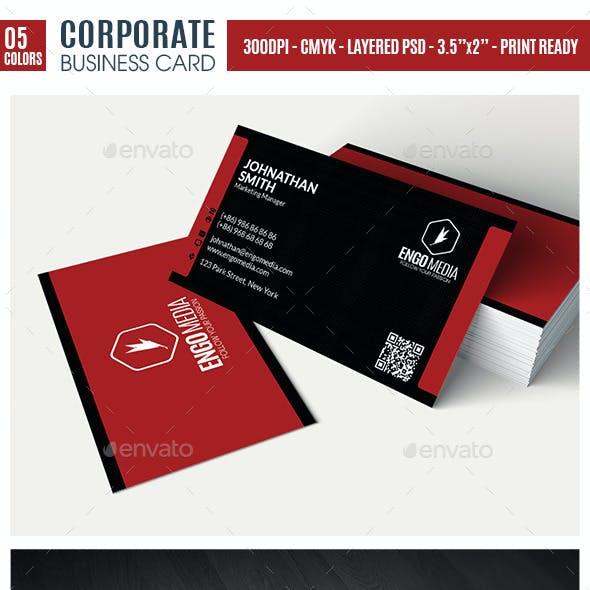 Creative Corporate Business Card EG15