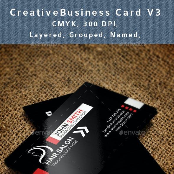 Hair Salon Business Card V3