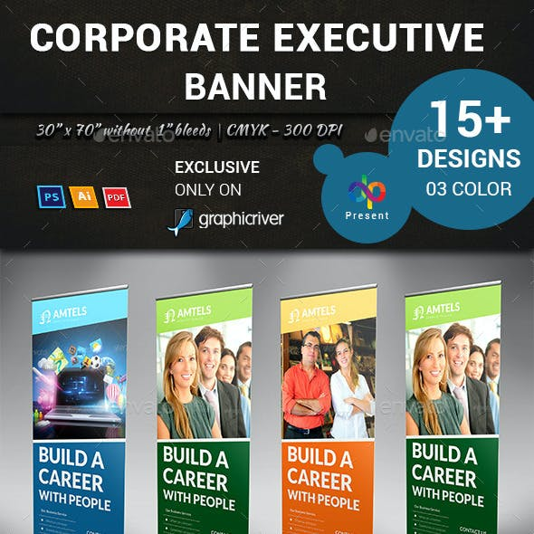 Corporate Executive Banner