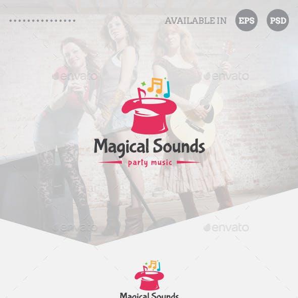 Magical Sounds Logo Template