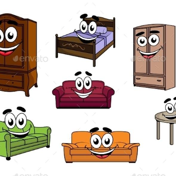 Furniture Cartoons