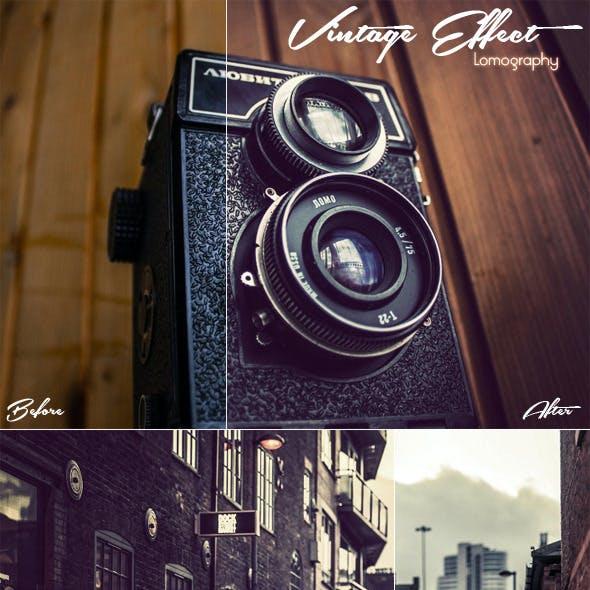 Vintage Effect (Lomography)