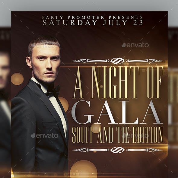 A Night of Gala Flyer Template