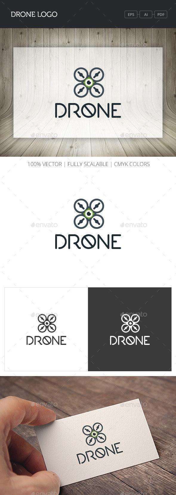 Drone Logo - Objects Logo Templates