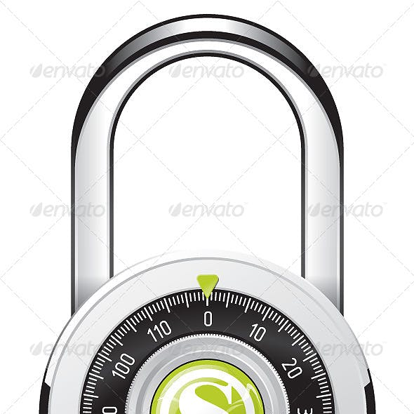 Rounded Padlock
