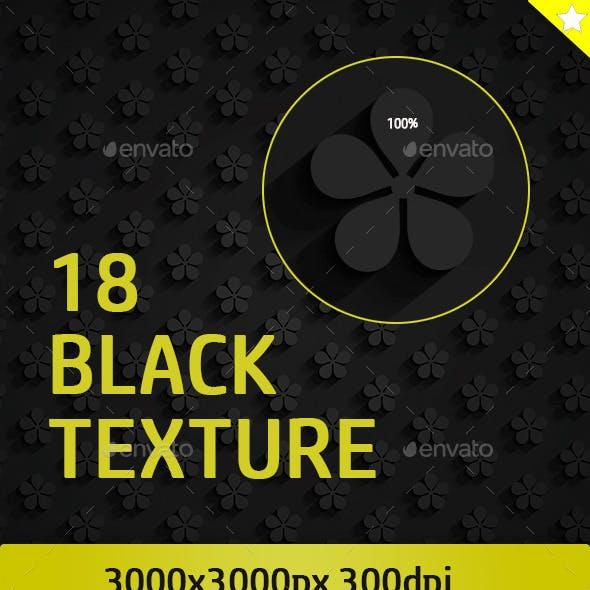18  Black Pattern Texture