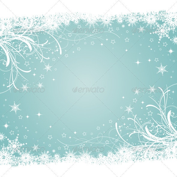 Winter Background - Christmas Seasons/Holidays