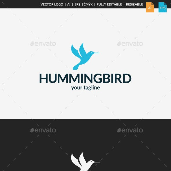 Little Hummingbird Logo